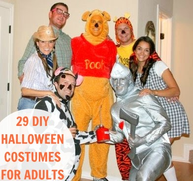 44 Homemade Halloween Costumes for Adults -