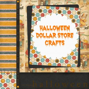 Halloween Dollar Store Crafts 300x300 Halloween Themed Dollar Store Crafts {roundup}
