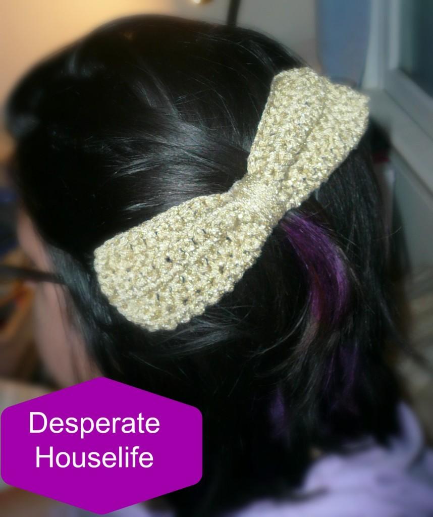 Crochet Hair Styles Diy : crochet bow 7.jpg 858x1024 Big Crochet Bow Hair Clip {diy}
