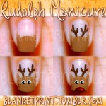 Christmas Nail Tutorials 12 150x150 Christmas Nail Art Tutorials {roundup}