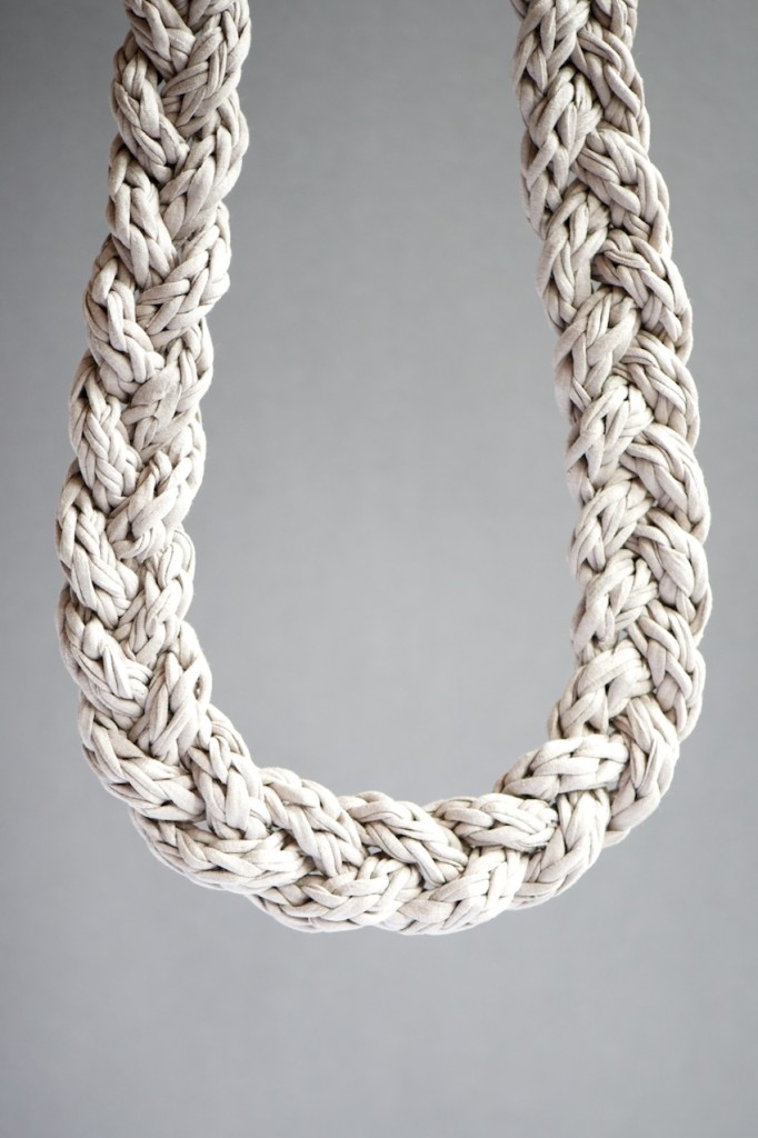 Fabric Necklace DIY