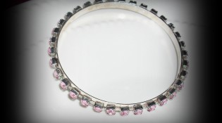 DIY Rhinestone Bangle