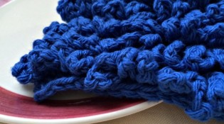 Lots of Loops Dishcloth Crochet Pattern {free}