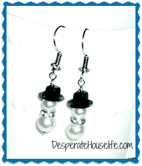 snowmanearrings.jpg How to Make Snow Man Earrings {diy}